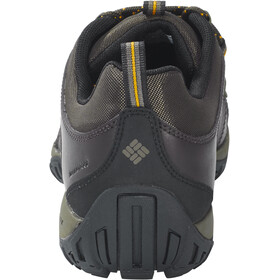 Columbia Peakfreak Venture Zapatillas Resistente al Agua Hombre, cordovan, squash